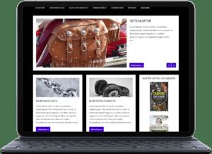 Fertige Blogs kaufen Motorrad-Zubehör