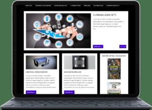 Fertige Blogs kaufen Überwachungstechnik